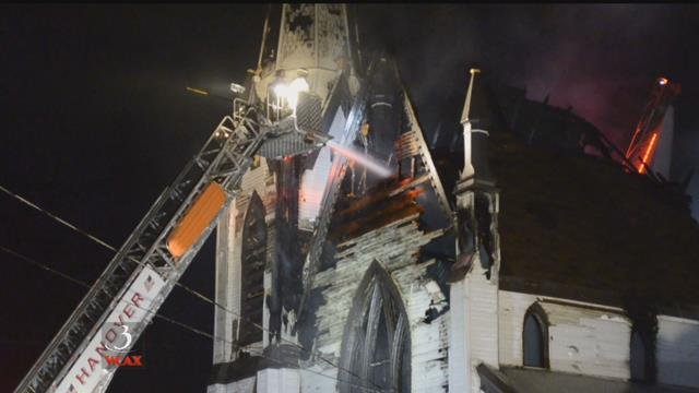 Historic Lebanon, NH church destroyed by fire