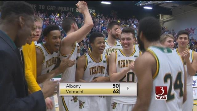 UVM Hoop Cats keep rolling in front of sellout crowd