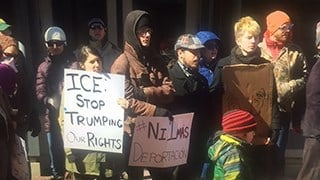 Is ICE targeting immigration activists?