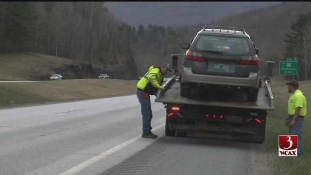 Vt. police crack down on move over law
