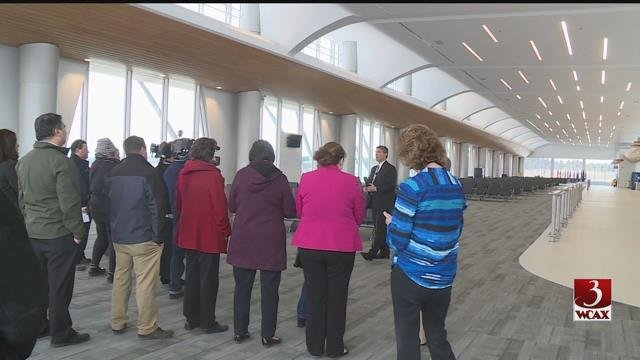 Take a tour of Plattsburgh's new airport facilities