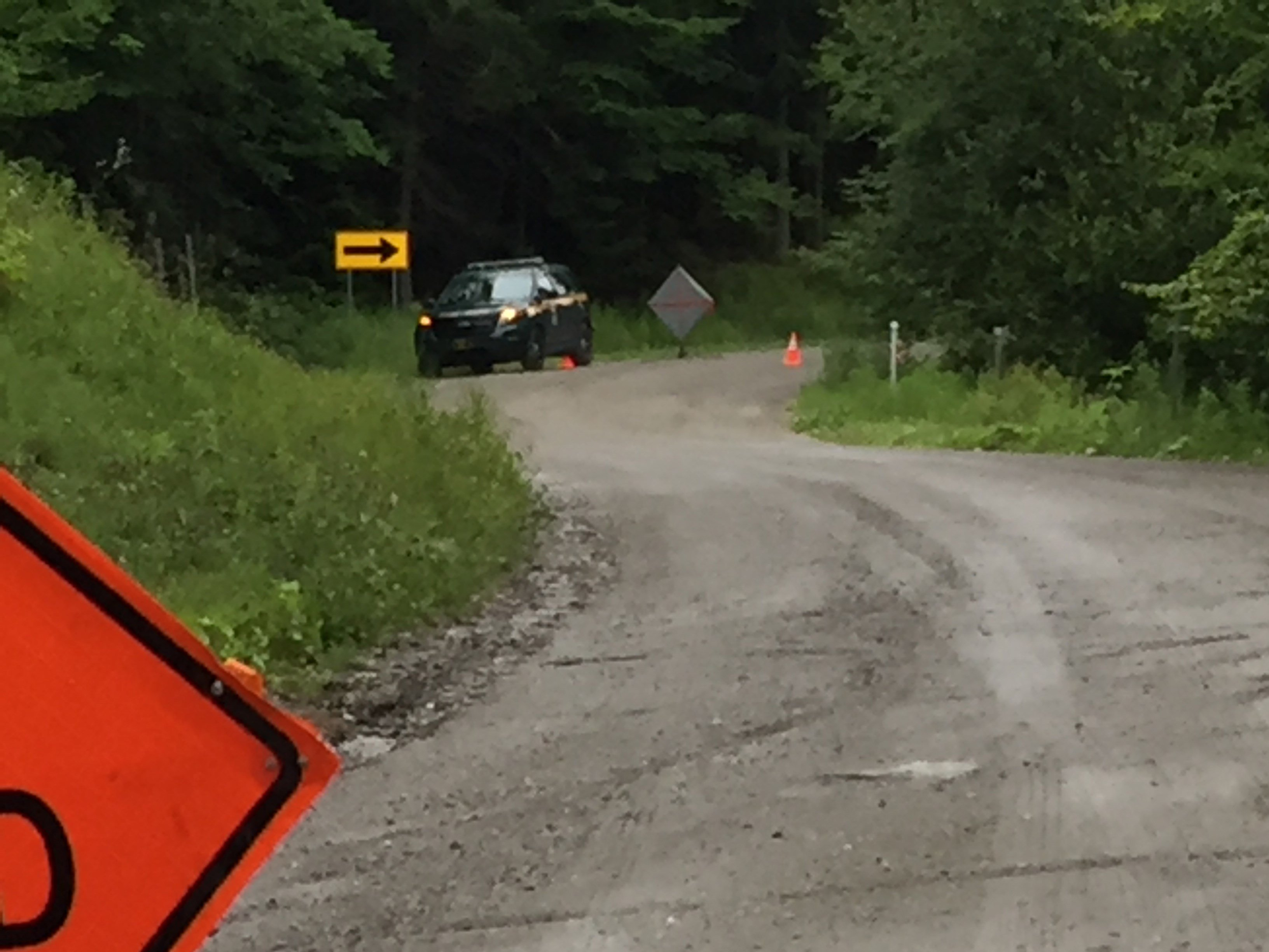 Woman's body found in ditch along secluded Vermont road