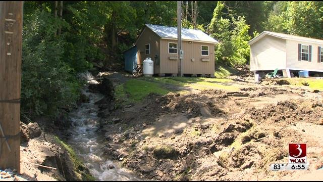 Feds totaling up Vermont damage from recent storms