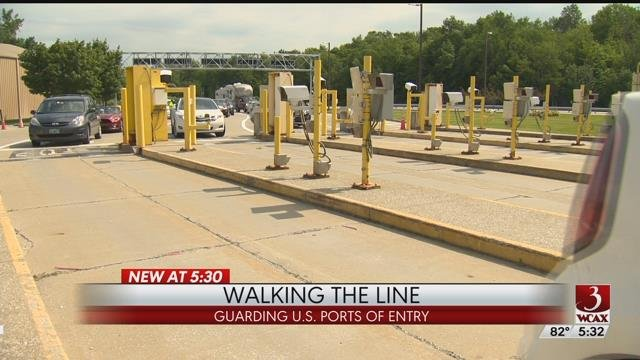 Walking the line: U.S. Customs and Border Protection