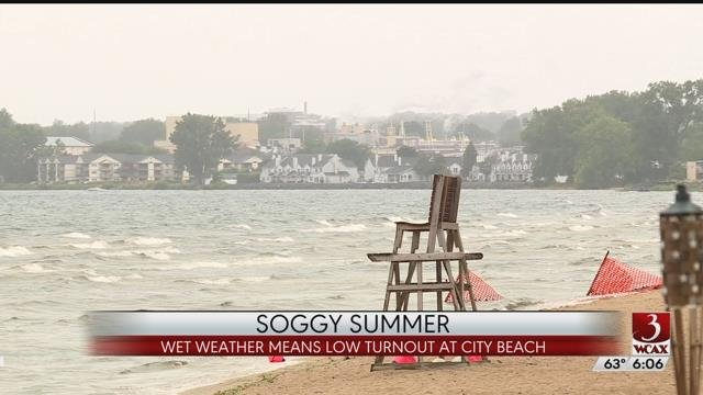 Slow start to the summer season at Plattsburgh beach