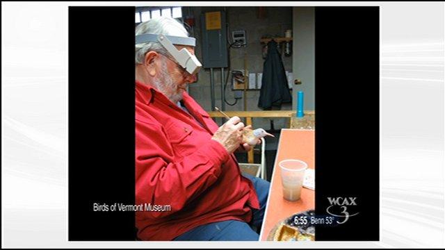 Carver Bob Spear at work
