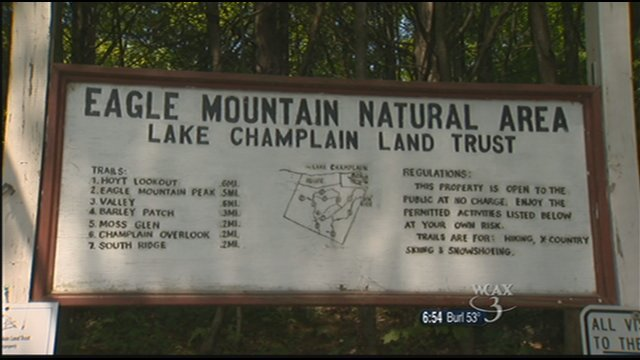 Eagle Mountain Natural Area in Milton.