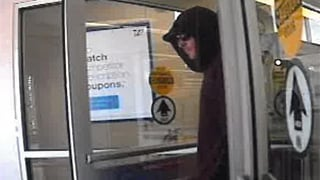 Surveillance photo from South Burlington Walgreens