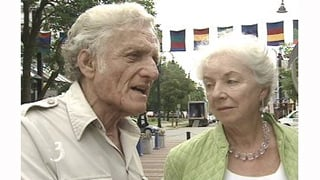 Edgar May and Madeleine Kunin/File photo