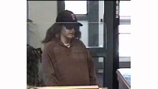 Surveillance photo from Union Bank in Hardwick