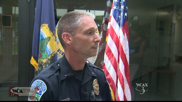 Burlington Police Chief Mike Schirling