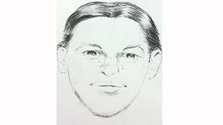 Sketch of Fannie Miller from St. Lawrence County Sheriff's Dept.