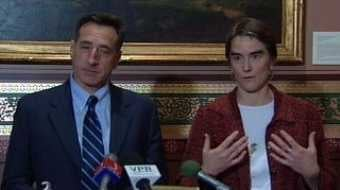 Peter Shumlin &amp; Gaye Symington - File Photo