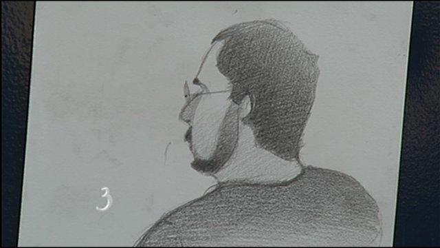 Ray Gagnon - Sketch by Armando Veve