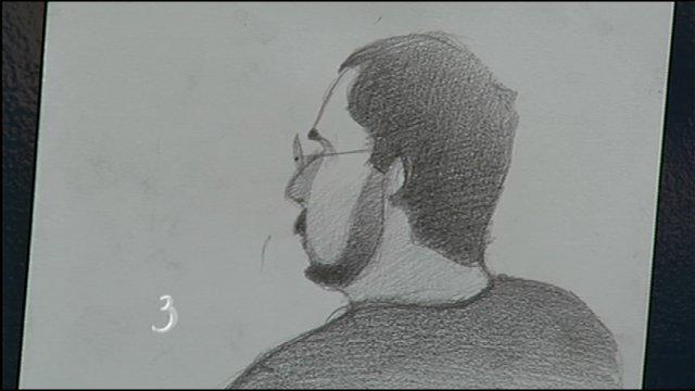 Raymond Gagnon - Sketch by Armando Veve