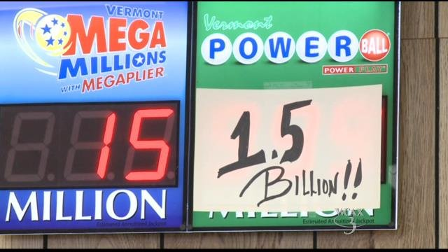 Powerball's Big $1.5 Billion Drawing is Tonight
